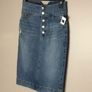Gap denim skirt,
